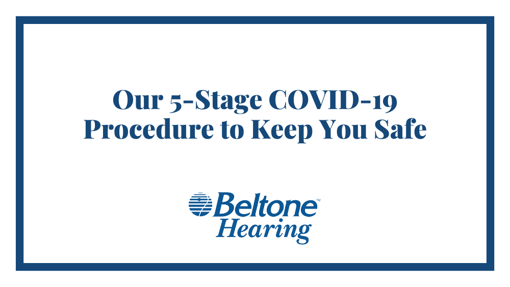 Our 5-Stage COVID-19 Procedure to Keep You Safe