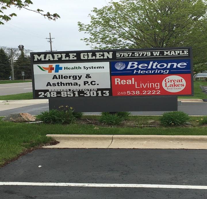 Beltone Hearing Aid sign